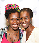 """Palywright Ngozi Anyanwu and director Awoye Timpo attend the Cast photo call for the Vineyard Theatre production of """"Good Gfief"""" on September 12, 2018 at the Vineyard Theatre in New York City."""