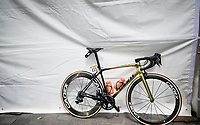 Greg Van Avermaet's (BEL/CCC) bling bike at the race start in Tarbes<br /> <br /> Stage 14: Tarbes to Tourmalet (117km)<br /> 106th Tour de France 2019 (2.UWT)<br /> <br /> ©kramon