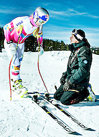 Austrian Heinz Hämmerle (cq), a ski technician for Lindsey Vonn (cq), at Copper Mountain in Colorado, Saturday, November 22, 2014. Hämmerle has been in the business for over 30 years.<br /> <br /> Photo by Matt Nager