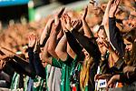 05.08.2017, Weser Stadion, Bremen, FSP, SV Werder Bremen (GER) vs FC Valencia (ESP) , <br /> <br /> im Bild | picture shows<br /> Laola Welle der Fans, <br /> <br /> Foto © nordphoto / Rauch
