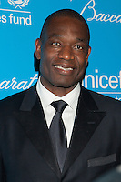 NEW YORK, NY - NOVEMBER 27: Dikembe Mutombo  attends the Unicef SnowFlake Ball at Cipriani 42nd Street on November 27, 2012 in New York City. © Diego Corredor/MediaPunch Inc. .. /NortePhoto