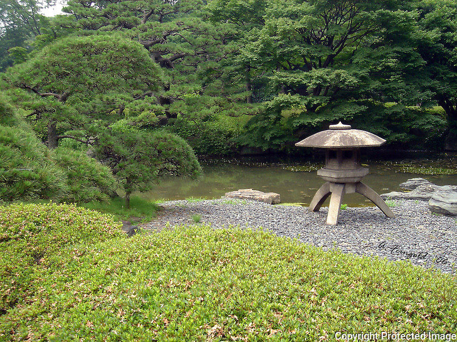 Tokyo Gardens, Historic Japanese Gardens, Four Seasons Hotel Tokyo, Historic Chinzan-so Garden<br />