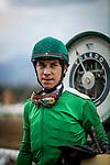 MAY 27: Geovanni Franco at Santa Anita at Santa Anita Park in Arcadia, California on May 27, 2019. Evers/Eclipse Sportswire/CSM