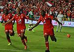 América venció como local 3-0 a Deportivo Cali. Partido aplazado fecha 17 Liga Águila I-2017.