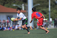 2019 Rippa Championship final between Fiji / Auckland and Russia / Poverty Bay on day two of the 2019 Air NZ Rippa Rugby Championship at Wakefield Park in Wellington, New Zealand on Tuesday, 27 August 2019. Photo: Dave Lintott / lintottphoto.co.nz