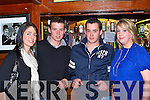 Treasa Murphy, Jerry Mangan, Mikey Mangan and Gemma Brosnan enjoying the session at the Neilus O'Connor festival in Hickeys bar Knocknagoshel on Sunday night   Copyright Kerry's Eye 2008
