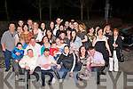 CROWD: A great crowd showed up for the Birthday of Joseph Flaherty in McElligotts Bar, Ardfert on Friday night (Joseph is seated 2nd from left).....