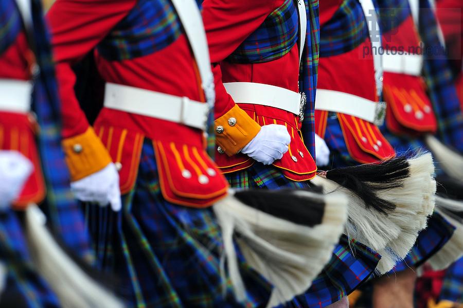 The Irish Guard..Photo by Matt Cashore