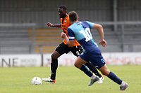 Ricardo Santos of Barnet  and Matt Bloomfield of Wycombe Wanderers during Barnet vs Wycombe Wanderers, Friendly Match Football at the Hive Stadium on 13th July 2019