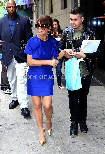 WWW.ACEPIXS.COM<br /> <br /> May 24 2016, New York City<br /> <br /> TV personality Paula Abdul made an appearance at 'The Wendy Williams Show' on May 24 2016 in New York City<br /> <br /> <br /> By Line: Zelig Shaul/ACE Pictures<br /> <br /> <br /> ACE Pictures, Inc.<br /> tel: 646 769 0430<br /> Email: info@acepixs.com<br /> www.acepixs.com