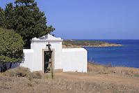 - Sardegna, isola dell' Asinara, il borgo di Cala Oliva, cimitero<br /> <br /> - Sardinia, Asinara island, Cala Oliva village, the cemetery