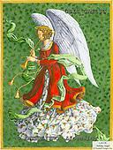 Ingrid, HOLY FAMILIES, HEILIGE FAMILIE, SAGRADA FAMÍLIA, paintings+++++,USISGAI13C,#XR# angels ,vintage