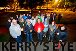 Pictured at a candlelight vigil to mark World Suicide Day at Pearse Park, Tralee on Sunday night.