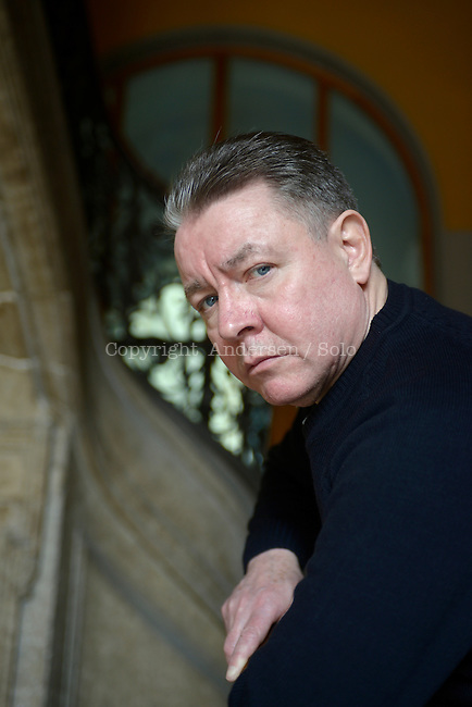 Sam Millar, Irish crime novelist in Lyon, 2013.