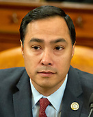 "United States Representative Joaquin Castro (Democrat of Texas), prior to hearing testimony from James Comey, Director of the Federal Bureau of Investigation and Mike Rogers, Director of the National Security Agency before the US House Permanent Select Committee on Intelligence (HPSCI) on the ""Russian Active Measures Investigation"" on Capitol Hill in Washington, DC on Monday, March 20, 2017.<br /> Credit: Ron Sachs / CNP<br /> (RESTRICTION: NO New York or New Jersey Newspapers or newspapers within a 75 mile radius of New York City)"