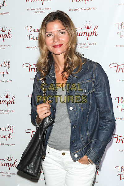NEW YORK, NY -  AUGUST 28: Jill Hennessy attends Triumph Lingerie's Magic Wire Launch Event at The Old Bowery Station on August 28, 2014 in New York City.  <br /> CAP/MPI/COR99<br /> &copy;COR99/MPI/Capital Pictures
