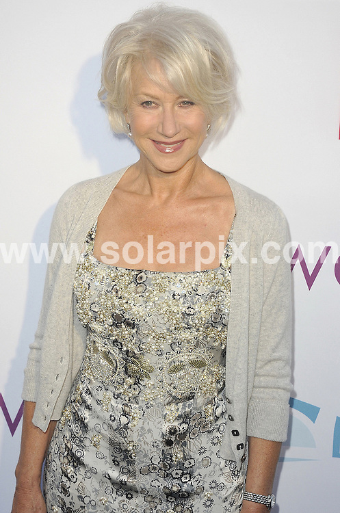**ALL ROUND PICTURES FROM SOLARPIX.COM**                                             **SYNDICATION RIGHTS FOR UK, AUSTRALIA, DENMARK, PORTUGAL, S. AFRICA, SPAIN & DUBAI (U.A.E) & ASIA (EXCLUDING JAPAN) ONLY**                                                                                  Caption: Hollywood Bowl Hall of Fame Ceremony - Arrivals - Hollywood Bowl - Hollywood, CA, USA                                                                                    This pic: Helen Mirren                                                                                           JOB REF: 13602      PHZ Uema       DATE: 17_06_2011                                                            **MUST CREDIT SOLARPIX.COM OR DOUBLE FEE WILL BE CHARGED**                                                                        **MUST NOTIFY SOLARPIX OF ONLINE USAGE**                 **CALL US ON: +34 952 811 768 or LOW RATE FROM UK 0844 617 7637**
