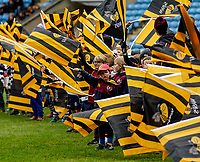 5th January 2020; Ricoh Arena, Coventry, West Midlands, England; English Premiership Rugby, Wasps versus Northampton Saints; Young boys and girls waving the Wasps flags - Editorial Use