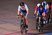 7th February 2019, Melbourne Arena, Melbourne, Australia; Six Day Melbourne Cycling; Ashlee Ankudinoff of Australia rides during the 7 1/2km Scratch Race