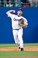 May 30, 2009:  NCAA Division 1 Gainesville Regional:    Florida 3B Brandon McArthur during 2nd round regional action at Alfred A. McKethan Stadium on the campus of University of Florida in Gainesville. Host University of Florida Gators defeated Miami Hurricanes  8-2 to advance in the Winners bracket.............