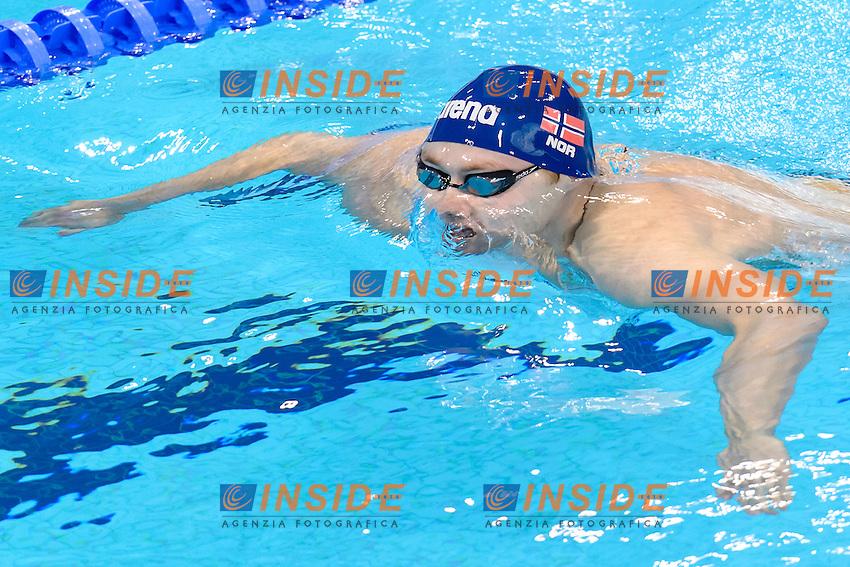Sverre NAESS NOR <br /> 200m Breaststroke Men Preliminary <br /> London, Queen Elizabeth II Olympic Park Pool <br /> LEN 2016 European Aquatics Elite Championships <br /> Swimming<br /> Day 10 18-05-2016<br /> Photo Andrea Staccioli/Deepbluemedia/Insidefoto