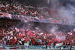 River Plate fans, <br /> DECEMBER 20, 2015 - Football / Soccer : <br /> FIFA Club World Cup Japan 2015 <br /> Final match between River Plate 0-3 Barcelona  <br /> at Yokohama International Stadium in Kanagawa, Japan.<br /> (Photo by Yohei Osada/AFLO SPORT)