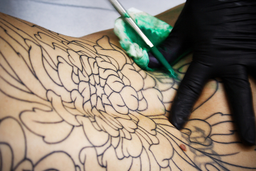 Tebori Tattoo by Shinji Horizakura