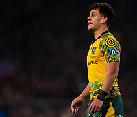 Australia's Matt Toomua<br /> <br /> Photographer Bob Bradford/CameraSport<br /> <br /> 2018 Quilter Internationals - England v Australia - Saturday 24th November 2018 - Twickenham - London<br /> <br /> World Copyright &copy; 2018 CameraSport. All rights reserved. 43 Linden Ave. Countesthorpe. Leicester. England. LE8 5PG - Tel: +44 (0) 116 277 4147 - admin@camerasport.com - www.camerasport.com