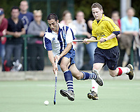 Hampstead & Westminster / Old Loughtonians<br />EHL Premier League<br />Paddington Rec, Maida Vale, Sept 25, 2005<br />Pic : Max Flego (Tel : 07870-553631)<br />Mitesh Patel - Hampstead & Westminster