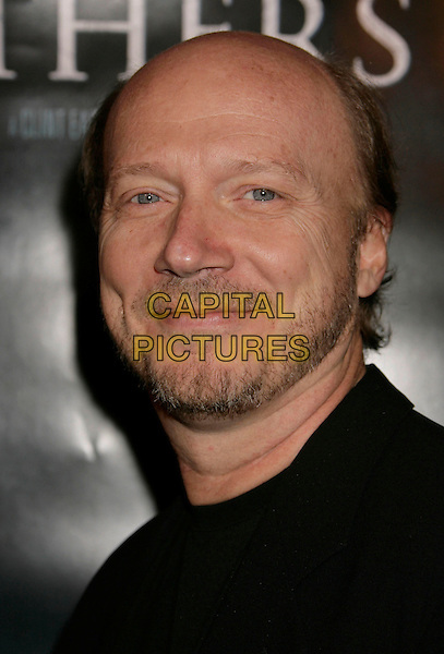 "PAUL HAGGIS.""Flags of Our Fathers"" Los Angeles Premiere held at the Academy of Motion Picture Arts and Sciences, Beverly Hills, California, USA, 09 October 2006..portrait headshot.Ref: ADM/RE.www.capitalpictures.com.sales@capitalpictures.com.©Russ Elliot/AdMedia/Capital Pictures."