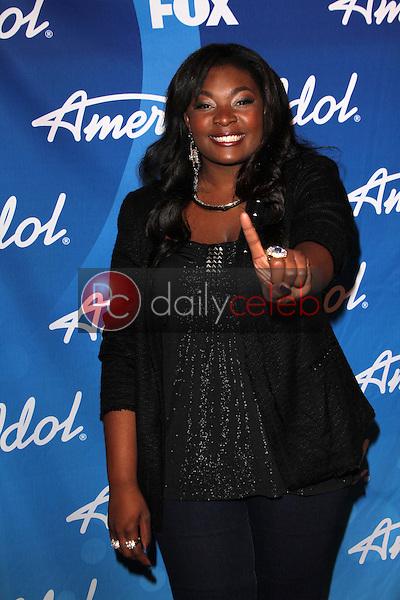 Winner Candice Glover<br /> at the American Idol Season 12 Finale Press Room, Nokia Theater, Los Angeles, CA 05-16-13<br /> David Edwards/DailyCeleb.Com 818-249-4998