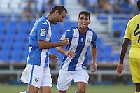 Leganes Victor Diaz during the XXXVII trophy of Legane's City between CD Leganes and Villarreal CF at Butarque Stadium. August 13, 2016. (ALTERPHOTOS/Rodrigo Jimenez) /NORTEPHOTO