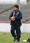United States assistant coach Bret Hall on Sunday, October 8th, 2006 at University of Richmond Stadium in Richmond, Virginia. The United States Women's National Team defeated Iceland 2-1 in a women's international friendly.