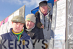 Bertie Brown, Christy Walsh and Mike Lawlee pictured at the National Coursing Meeting in Clonmel on Wednesday.