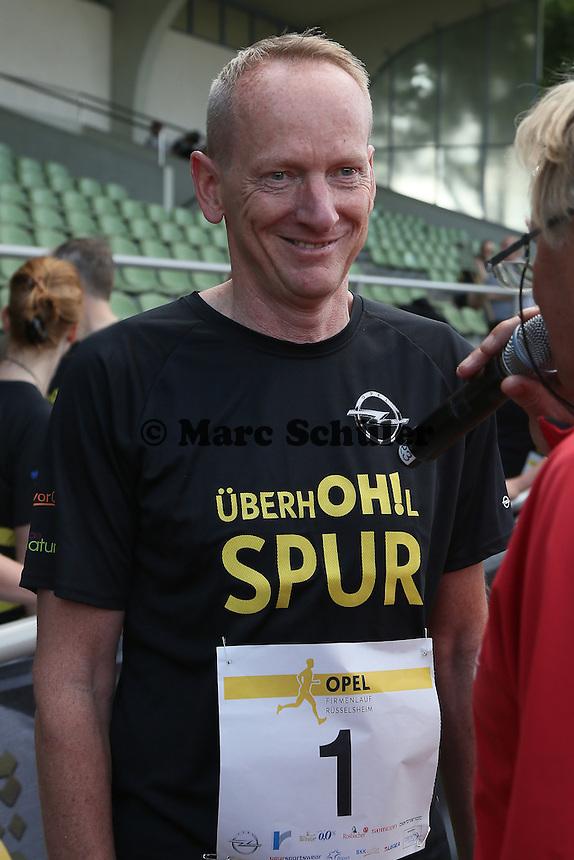 OPEL VOrstandsvorsitzender Karl-Thomas-Neumann - 4. OPEL Firmenlauf, Stadion am Sommerdamm