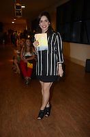 """SÃO PAULO, SP - 07.03.2016: MUSICAL-SP - A triz Sabrina Petraglia durante o musical """"Meu Amigo, Charlie Brown"""", no Teatro Shopping Frei Caneca (na zona oeste de SP), na noite desta segunda-feira (07). (Foto: Eduardo Martins/Brazil Photo Press)"""