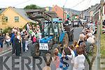 enjoying the annual Feile Lughnasa parade through the Village og Clahane last Sunday evening