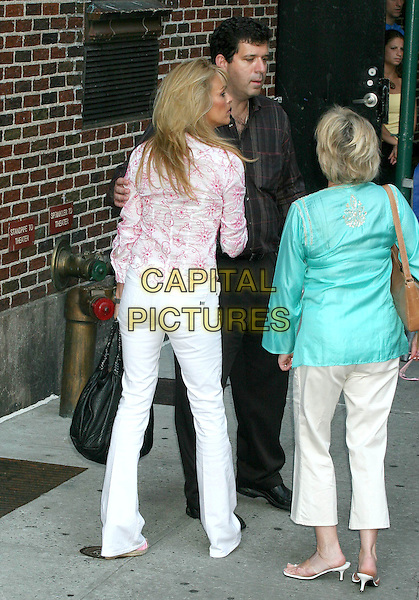 DIANA LOHAN.at ''The Late Show with David Letterman''.Ed Sullivan Theatre,.New York City, NY, USA,.June 21, 2005..full length mother of Lindsay Lohan mom mum back behind.Ref: IW.www.capitalpictures.com.sales@capitalpictures.com.©Ian Wilson/Capital Pictures.