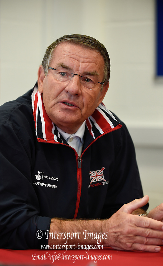 Caversham. Berkshire. UK<br /> Jurgan GROBLER.<br /> 2016 GBRowing European Team Announcement,  <br /> <br /> Wednesday  06/04/2016 <br /> <br /> [Mandatory Credit; Peter SPURRIER/Intersport-images]