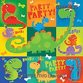 Sarah, CHILDREN BOOKS, BIRTHDAY, GEBURTSTAG, CUMPLEAÑOS, paintings+++++DinoBday-17-A,USSB430,#BI#, EVERYDAY