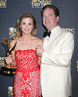 LOS ANGELES - APR 30:  Gina Tognoni, Joseph Chiarello at the CBS Daytime Emmy After Party at the Pasadena Conferene Center on April 30, 2017 in Pasadena, CA