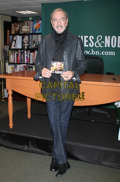 NEW YORK, NY - OCTOBER 24: Neil Diamond promotes his new cd 'Melody Road' during a signing at Barnes &amp; Noble in New York City on October 24, 2014. <br /> CAP/MPI/RW<br /> &copy;RW/MPI/Capital Pictures