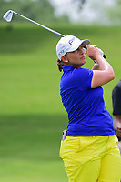 Angela Stanford (USA) watches her approach shot on 9 during round 2 of  the Volunteers of America Texas Shootout Presented by JTBC, at the Las Colinas Country Club in Irving, Texas, USA. 4/28/2017.<br /> Picture: Golffile | Ken Murray<br /> <br /> <br /> All photo usage must carry mandatory copyright credit (&copy; Golffile | Ken Murray)