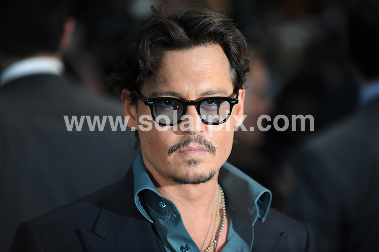 **ALL ROUND PICTURES FROM SOLARPIX.COM**                                             **WORLDWIDE SYNDICATION RIGHTS**                                                                                   Arrivals at the UK Premiere of Pirates Of The Caribbean: On Stranger Tides at the Westfield Shopping Centre in London.                                                                          This pic:     Johnny Depp                                                                                       JOB REF:    13332    LNJ       DATE:   12.05.11                                                         **MUST CREDIT SOLARPIX.COM OR DOUBLE FEE WILL BE CHARGED**                                                                      **MUST AGREE FEE BEFORE ONLINE USAGE**                               **CALL US ON: +34 952 811 768 or LOW RATE FROM UK 0844 617 7637**