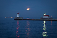 &quot;Super Moon over Lake Superior&quot;<br />