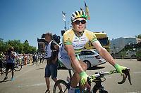 Simon Gerrans (AUS/Orica-GreenEDGE)<br /> <br /> 2014 Tour de France<br /> stage 12: Bourg-en-Bresse - Saint-Eti&egrave;nne (185km)