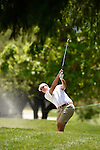 30 MAY 2016: Beau Hossler of Texas competes in the Division I Men's Golf Championship is held at the Eugene Country Club in Eugene, OR.  Hostler finished in fifth place with a +5 score. Stephen Nowland/NCAA Photos
