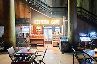 Turkey, Istanbul, Basilica Cistern, Cafe