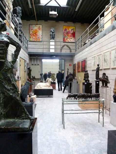 Bronsgieterij Steylaert in Waardenburg