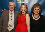 "Heidi Schreck and her parents attends the Broadway Opening Night Performance After Party for  ""What The Constitution Means To Me"" at Ascent Lounge on March 31, 2019 in New York City."